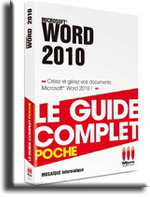 Word 2010 - Guide complet poche - Un livre de MOSAIQUE Informatique Nancy